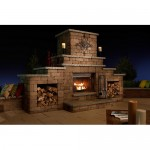 Rockwood Grand Outdoor Fireplace-500